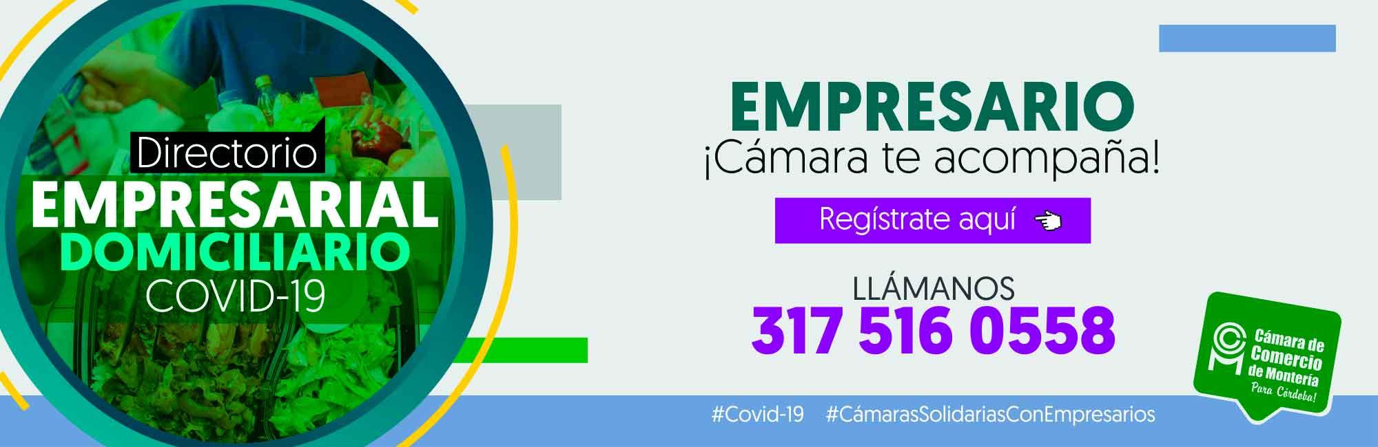 Directorio Empresarial especial COVID-19
